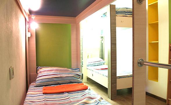 6-местная комната в хостеле